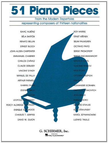 9781423499671: 51 Pieces from the Modern Repertoire: Piano Solo