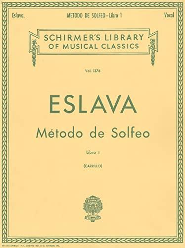 METODO DE SOLFEO LIBRO 1 VOCAL SPANISH