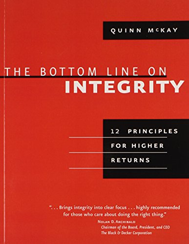 9781423605515: The Bottom Line on Integrity