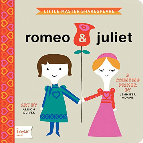 9781423622055: Romeo & Juliet: A BabyLit® Counting Primer