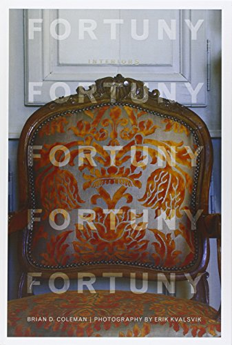 Fortuny Interiors (Hardback or Cased Book): Coleman, Brian