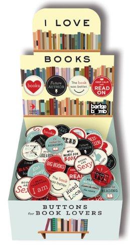 9781423633419: I Love Books Button Box (Lovelit)