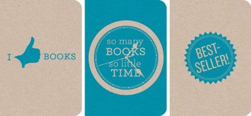 Notebooks Cyan: Best Seller, So Many Books So Little Time, I Like Books Pocket-Sized ECO-Friendly ...