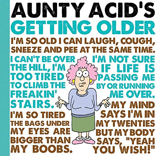 Aunty Acid's Getting Older: Ged Backland