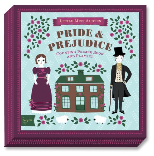9781423635154: Pride & Prejudice: A BabyLit Counting Primer Board Book and Playset (BabyLit Playset)