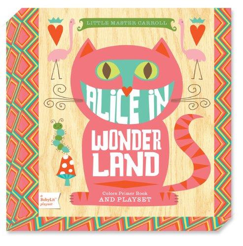 9781423636441: Alice in Wonderland: A BabyLit® Colors Primer Board Book and Playset (BabyLit Playset)
