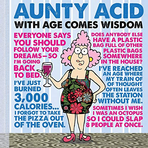 Aunty Acid : With Age Comes Wisdom: Ged Backland