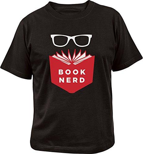 9781423639053: Book Nerd T-Shirt Large
