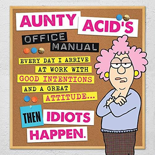 9781423639688: Aunty Acid's Office Manual