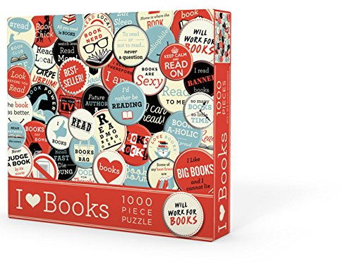 9781423640950: I Heart Books Puzzle