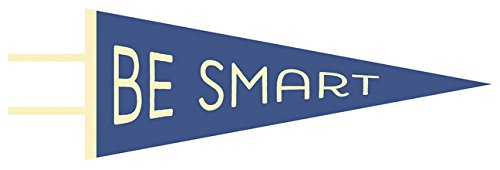 9781423641025: Be Smart Pennant