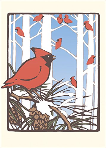 9781423641957: Winter Cardinals: Boxed Set of 6 Cards