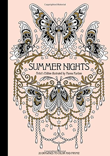 9781423646570: Summer Nights Artist's Edition: Published in Sweden as