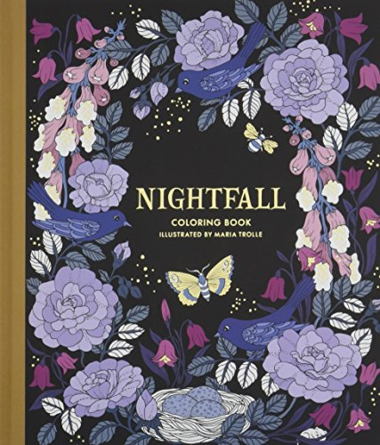 9781423649168: Nightfall Coloring Book: Originally Published in Sweden as Skymningstimman (Colouring Books)