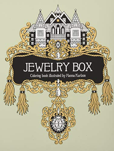 Download Jewelry Box Coloring Book: Published in Sweden as