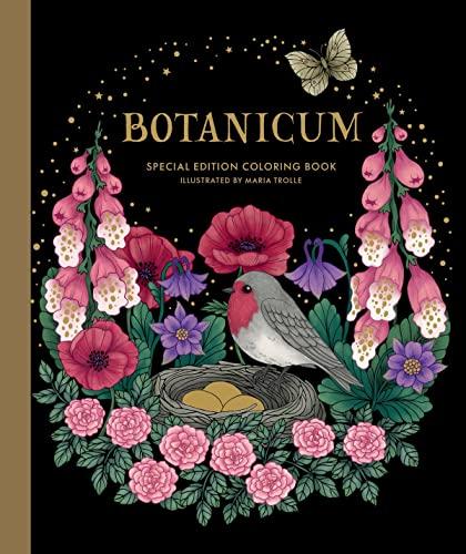 9781423654018: Botanicum Coloring Book