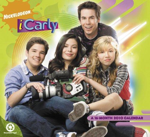 9781423800255: iCarly 2010 Wall Calendar