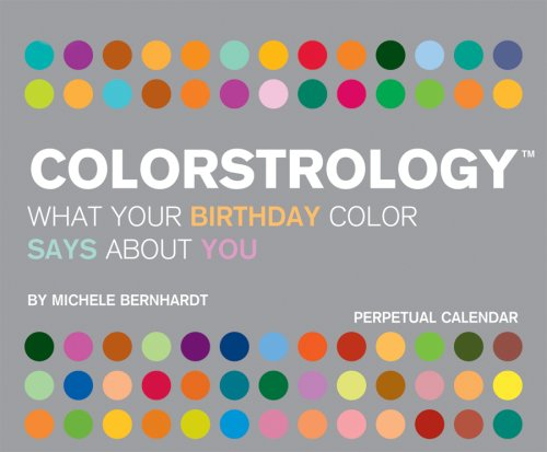 9781423801078: Colorstrology 2010 Year In A Box Calendar