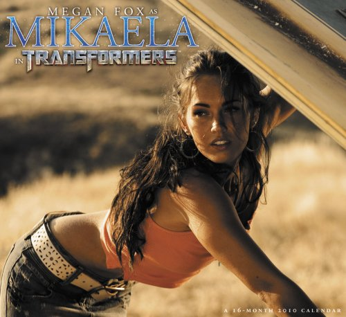 9781423801184: Megan Fox As Mikaela In Transformers 2010 Wall Calendar