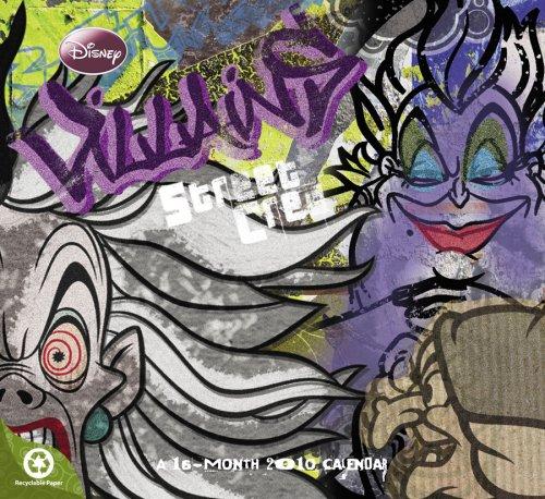 Disney Villains 2010 Wall Calendar: DayDream