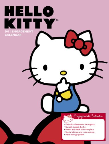 2011 Hello Kitty Engagement Calendar