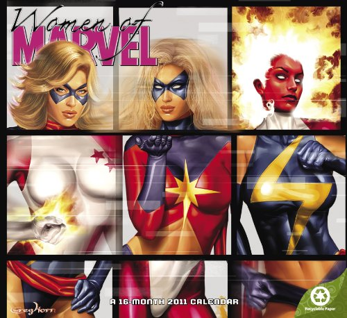 2011 Women of Marvel Wall Calendar