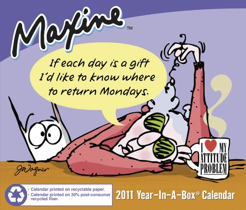 2011 Maxine Box Calendar