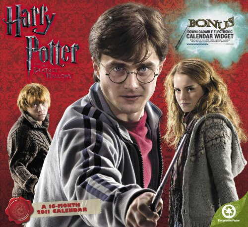 9781423805366: Harry Potter and the Deathly Hallows 2011 Calendar