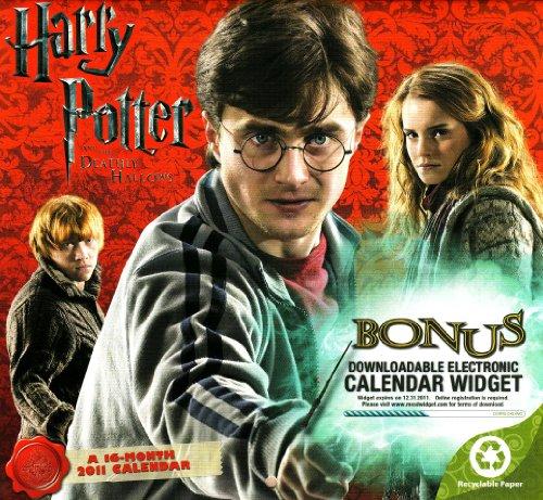 9781423805403: 2011 Harry Potter and the Deathly Hallows Mini Calendar