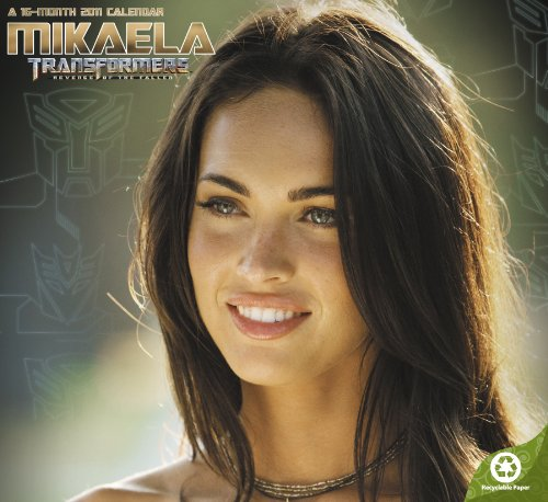 9781423806035: Mikaela Transformers Revenge of the Fallen 2011 Calendar