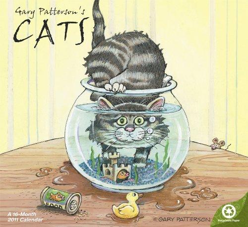 2011  Gary Patterson's Cats  Wall Calendar