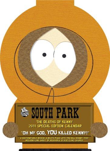 9781423806875: South Park: The Deaths of Kenny 2011 Calendar