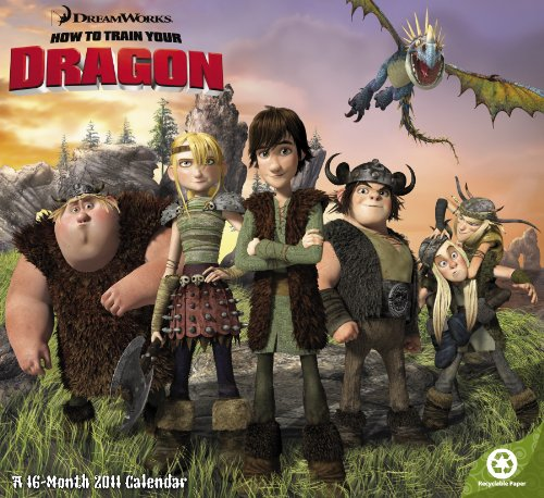 9781423807711: 2011 How to Train Your Dragon Wall Calendar