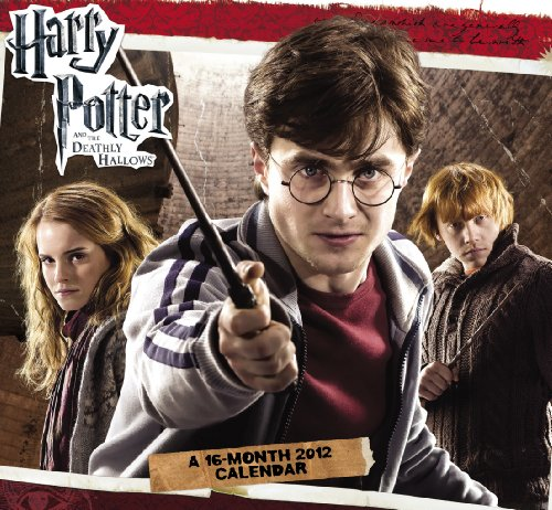 9781423809159: 2012 Harry Potter and the Deathly Hallows Mini Calendar