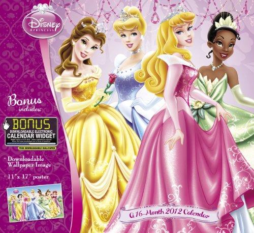 9781423809890: 2012 Disney Princess Wall Calendar