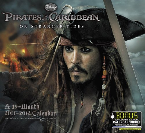 2012 Pirates of the Caribbean: On Stranger Tides Wall Calendar
