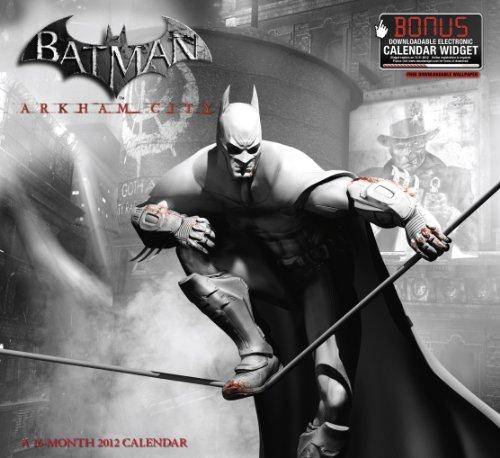 2012 Batman Arkham City Wall Calendar: Day Dream