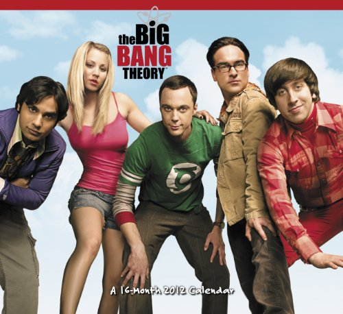 9781423811756: 2012 The Big Bang Theory Wall Calendar