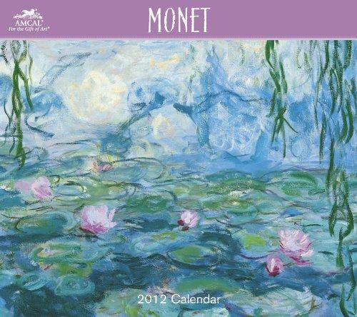 9781423812586: 2012 Monet Wall Calendar