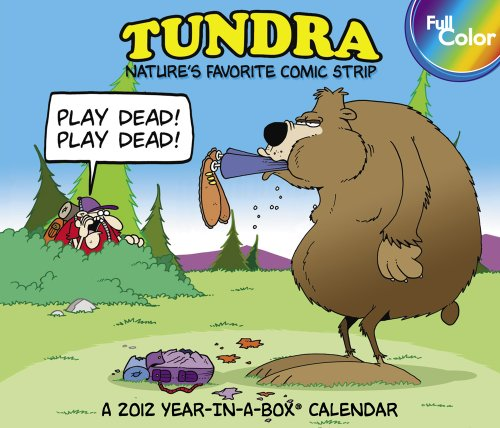 9781423812999: 2012 Tundra Year-In -A Box Calendar