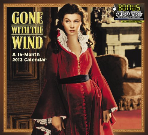 2013 Gone With the Wind Wall Calendar: Day Dream