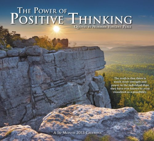 9781423813828: 2013 The Power of Positive Thinking Wall Calendar