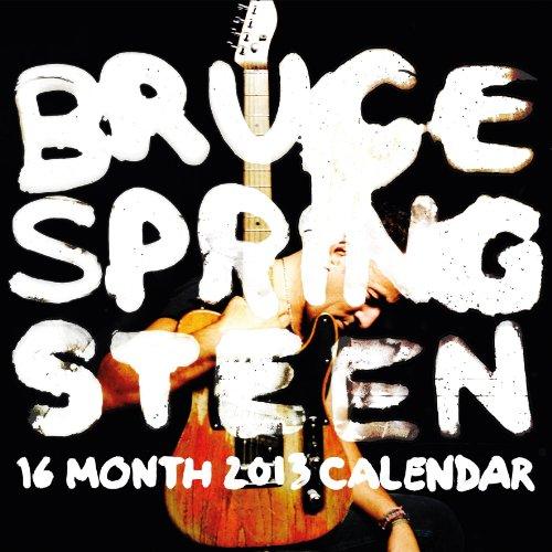 9781423814290: 2013 Bruce Springsteen Wall Calendar