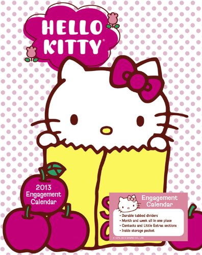 2013 Hello Kitty Weekly Engagement Calendar: Day Dream