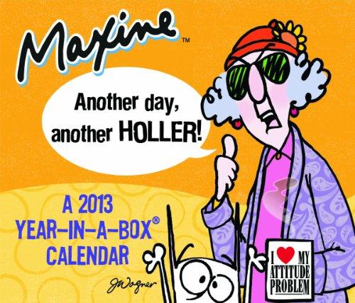 9781423816119: 2013 Maxine Year-In-A-Box Calendar