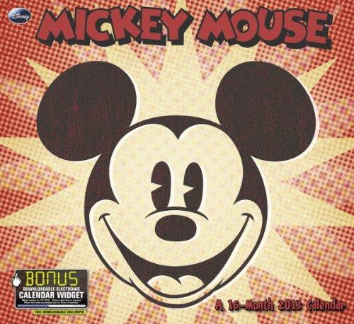 2013 Mickey Mouse Wall Calendar: Day Dream