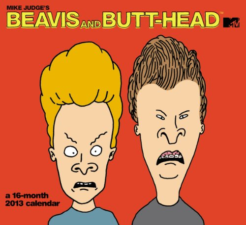 9781423818168: 2013 Beavis and ButtHead Wall Calendar