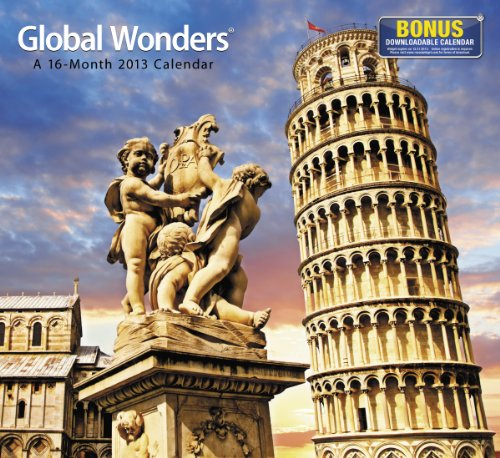 9781423818281: 2013 Global Wonders Wall Calendar