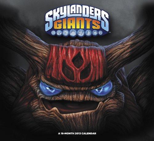 9781423818717: Skylanders Giants 2013 Calendar