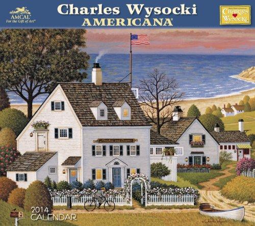 2014 Charles Wysocki Americana Wall Calendar: MOSAIC LICENSING